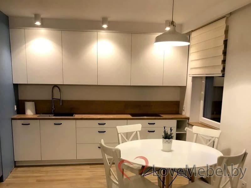Кухня до потолка из крашенного МДФ Монторио (4)