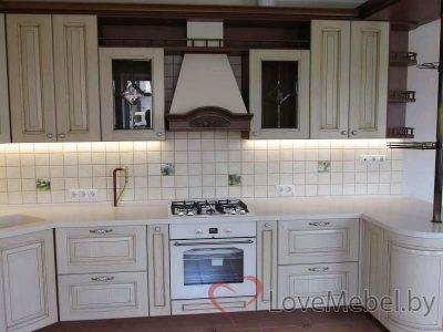 Большая кухня из массива «Больтания» (3)