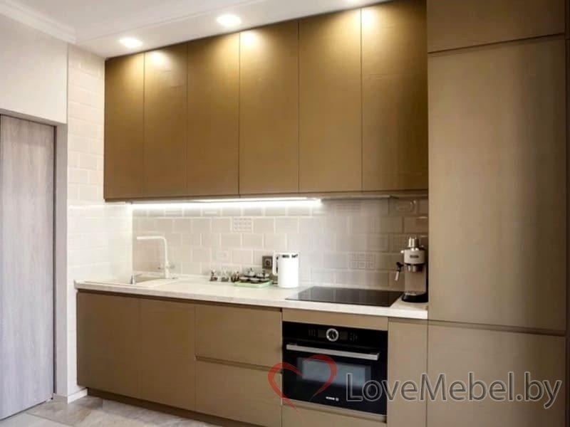Кухня с распашными фасадами до потолка Арта (2)