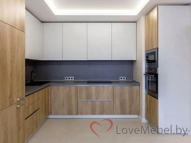 Кухня с высокими распашными ящиками Кармона (1)