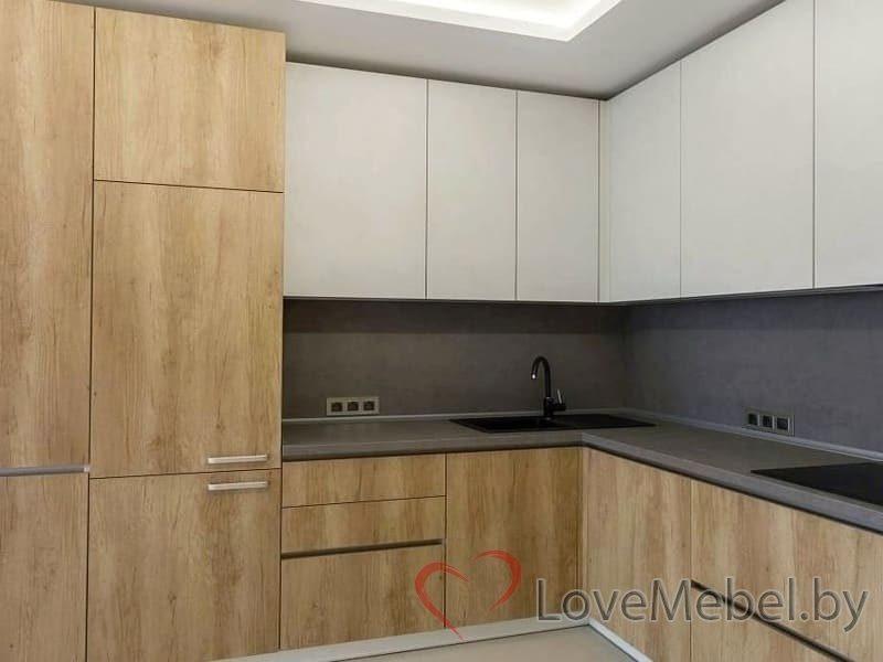 Кухня с высокими распашными ящиками Кармона (2)
