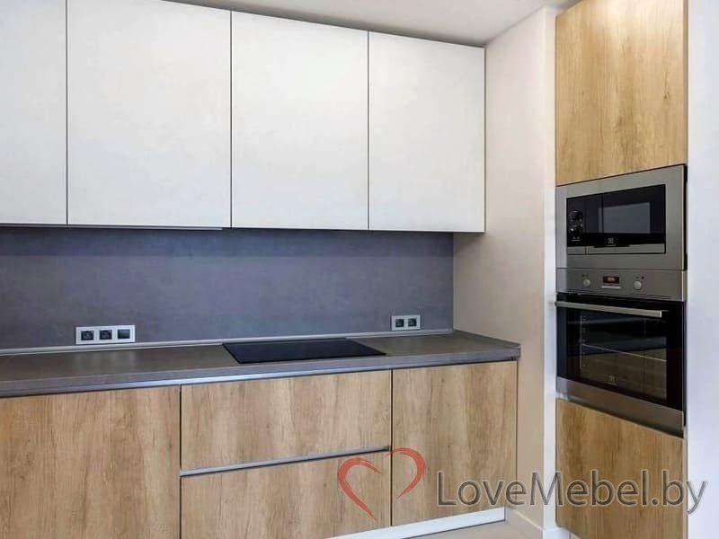 Кухня с высокими распашными ящиками Кармона (3)