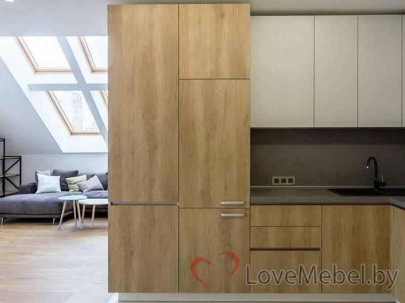 Кухня с высокими распашными ящиками Кармона (4)