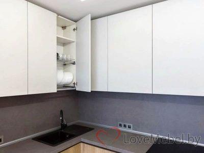 Кухня с высокими распашными ящиками Кармона (5)